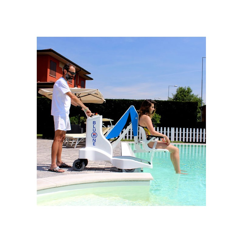 Bluone sollevatore per piscine - Sollevatore piscina per disabili ...