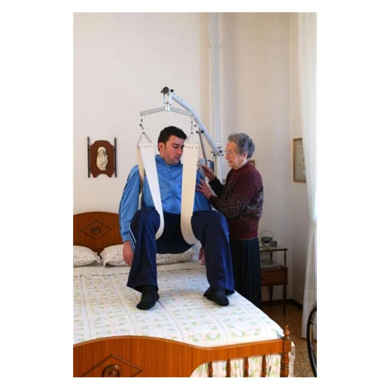 Sollevatore a bandiera per malati e disabili - Ausili per disabili bagno ...