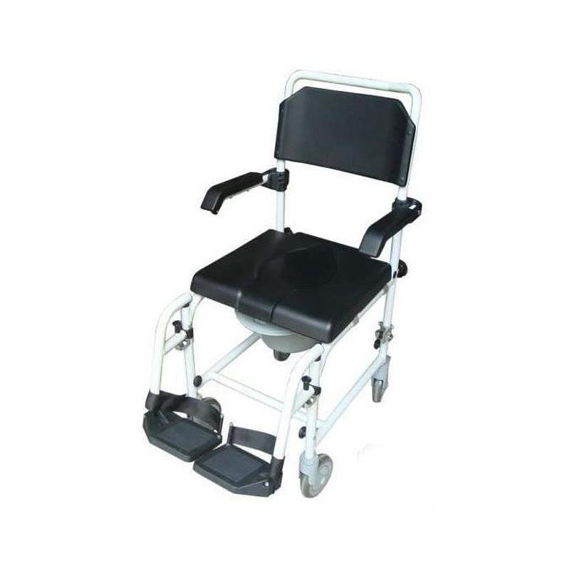 Wave 2 sedia a rotelle comoda per doccia - Sedia con ruote ...