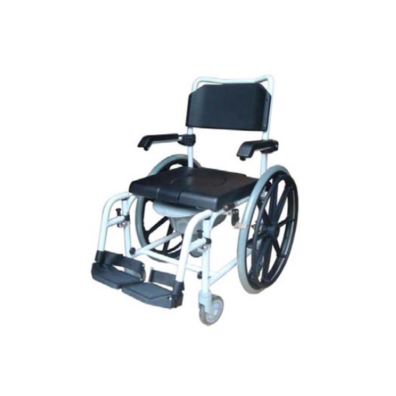 Sedia comoda per doccia con ruote da 24 39 39 - Sedia con ruote ...