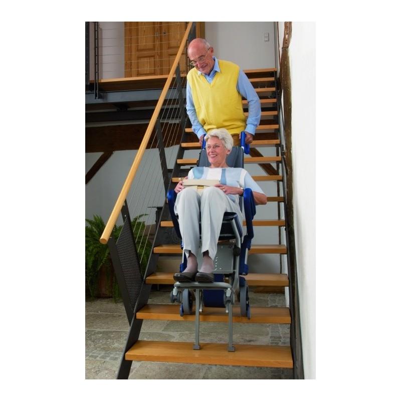 Escalino - montascale a ruote con poltroncina - ausili per ...