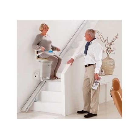 Montascale, saliscale fisso, per esterno interno per anziani e disabili