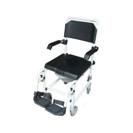 Sedia comoda per doccia Wave 2 con ruote 5''