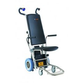 C-MAX Montascale a ruote con poltroncina - www.prezzi-ausili-per-disabili.it