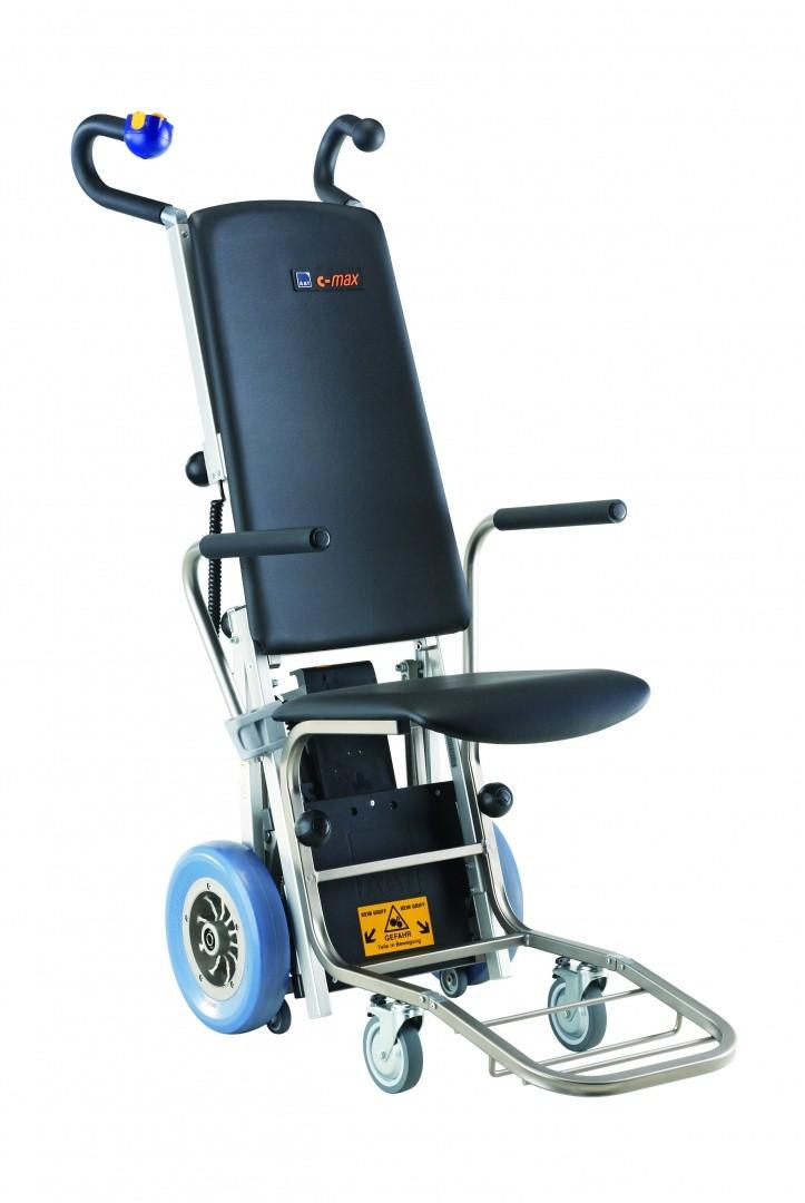 C Max Montascale A Ruote Con Poltroncina Ausili Per Disabili E Anziani