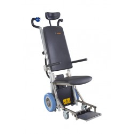 C-MAX PA Montascale a ruote con poltroncina per uso professionale - www.prezzi-ausili-per-disabili.it