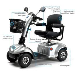 Scooter elettrico per disabili e anziani Eris