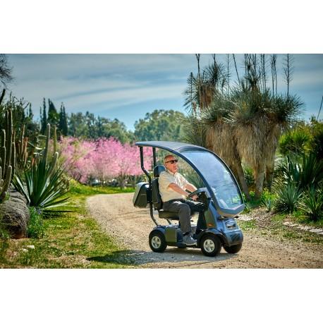 Scooter quattro ruote con copertura AfiscooterC4W
